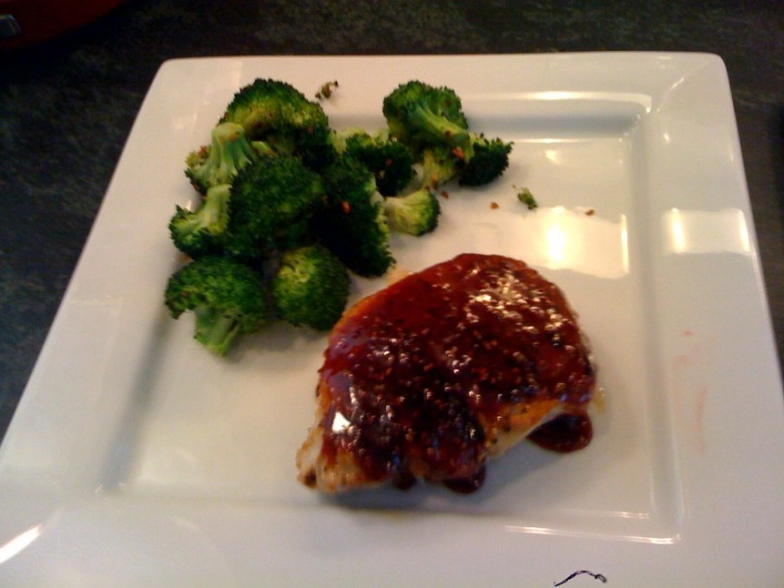 Jamey and Phil's Roasted Broccoli
