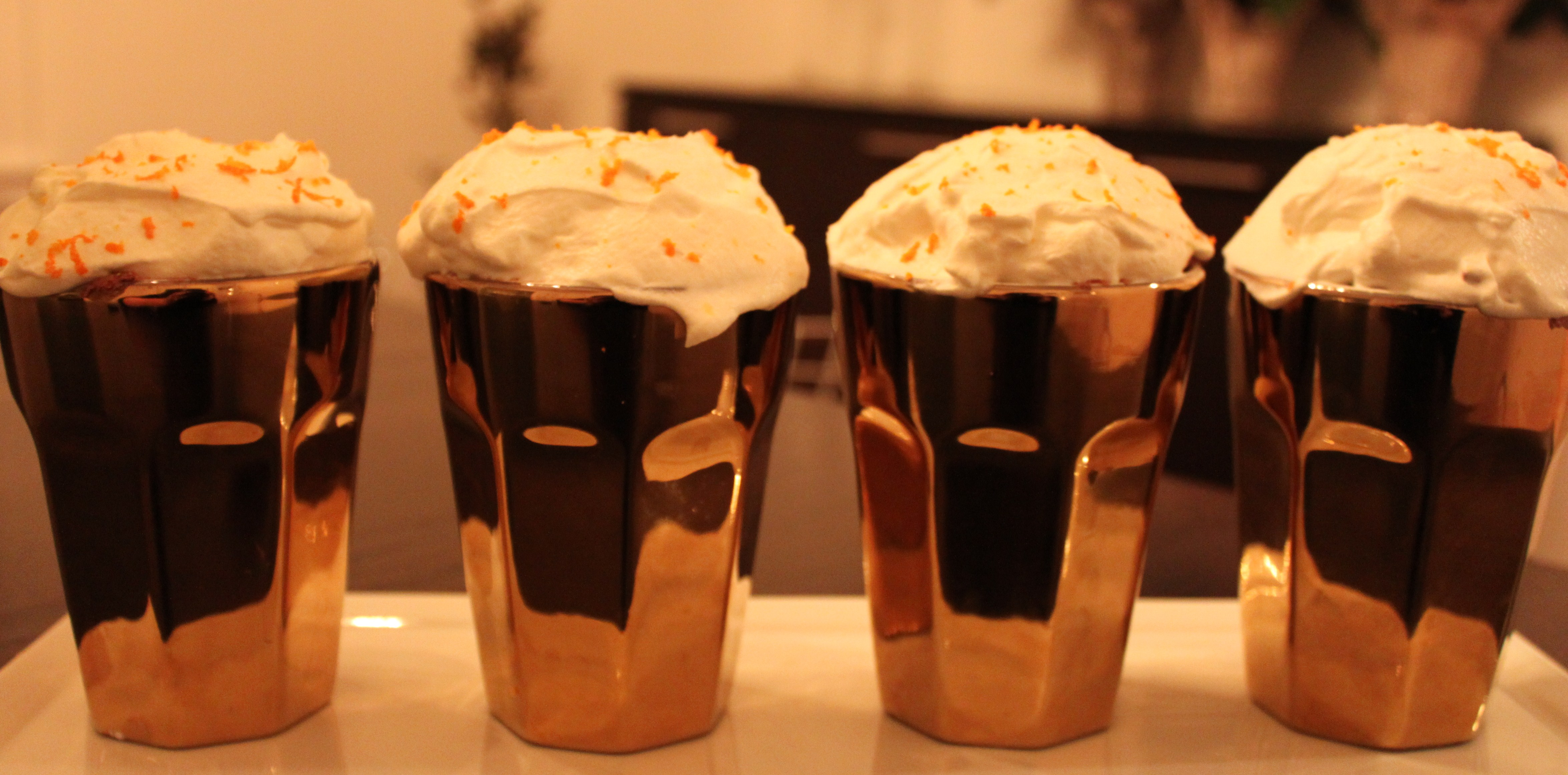 Chocolate Mousse with Whipped Cream & Dusts of Orange Zest   Mod Meals ...