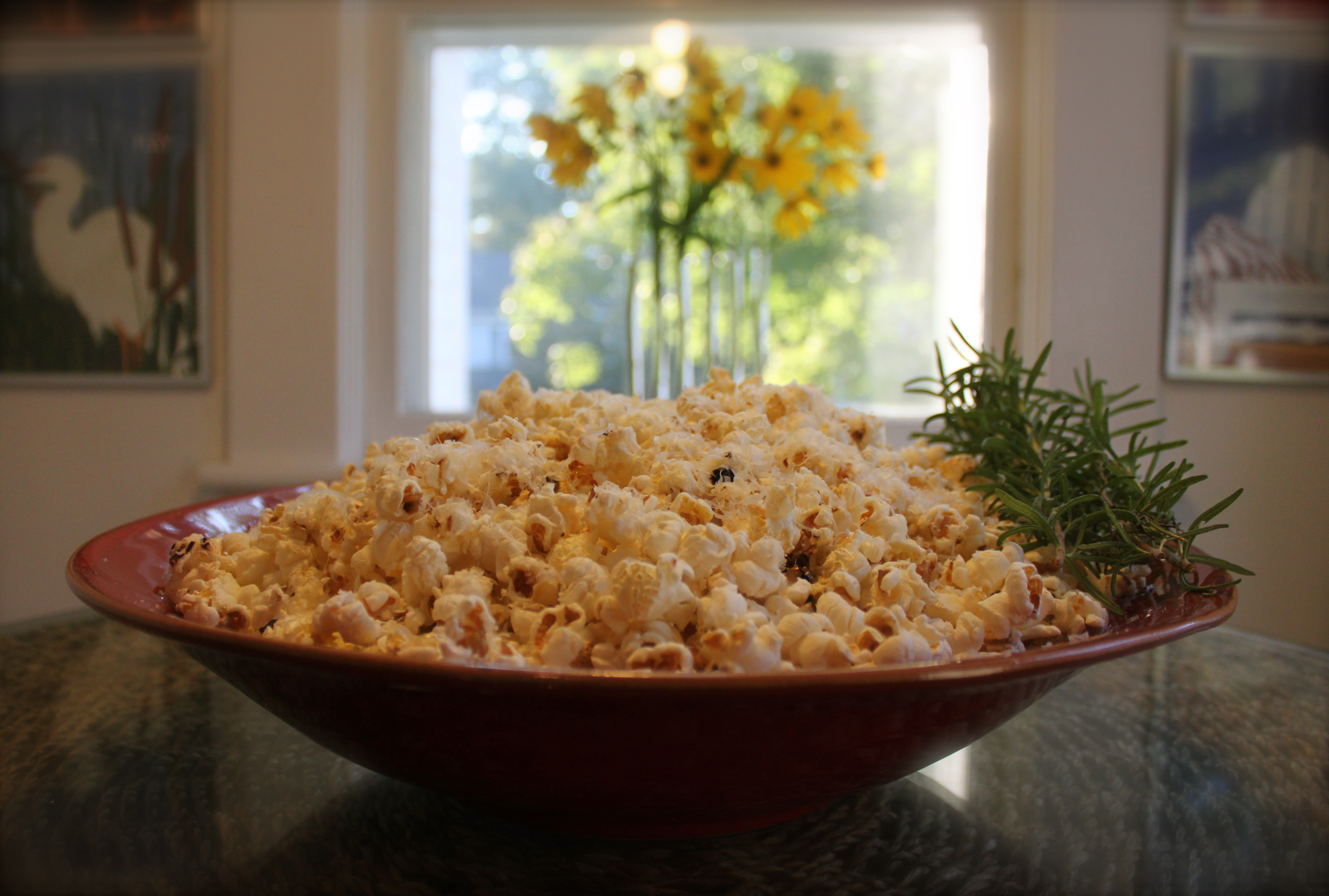 Black Truffle Buttered Popcorn with Dusted Pecorino Romano ...