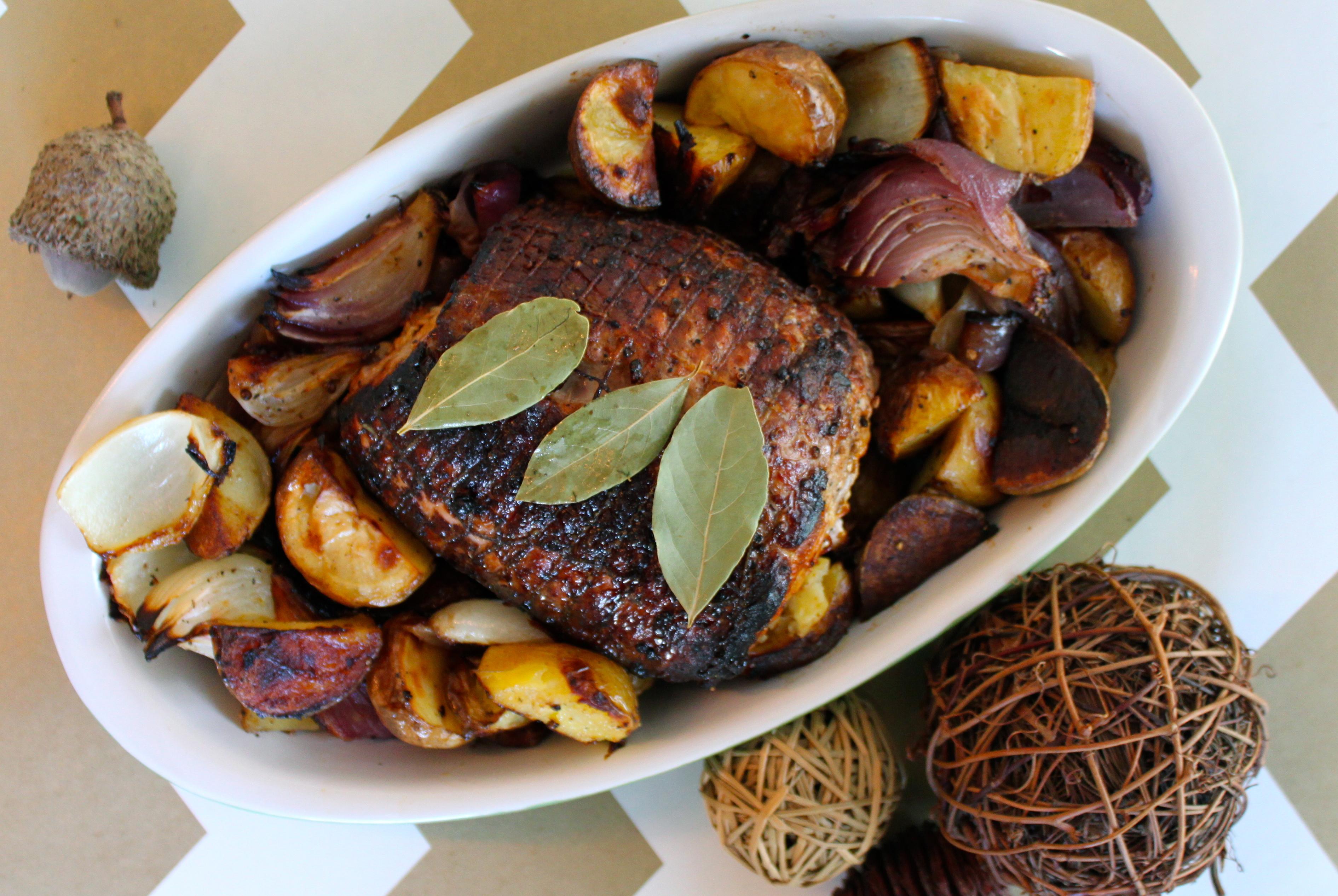 Cider brined pork roast recipe