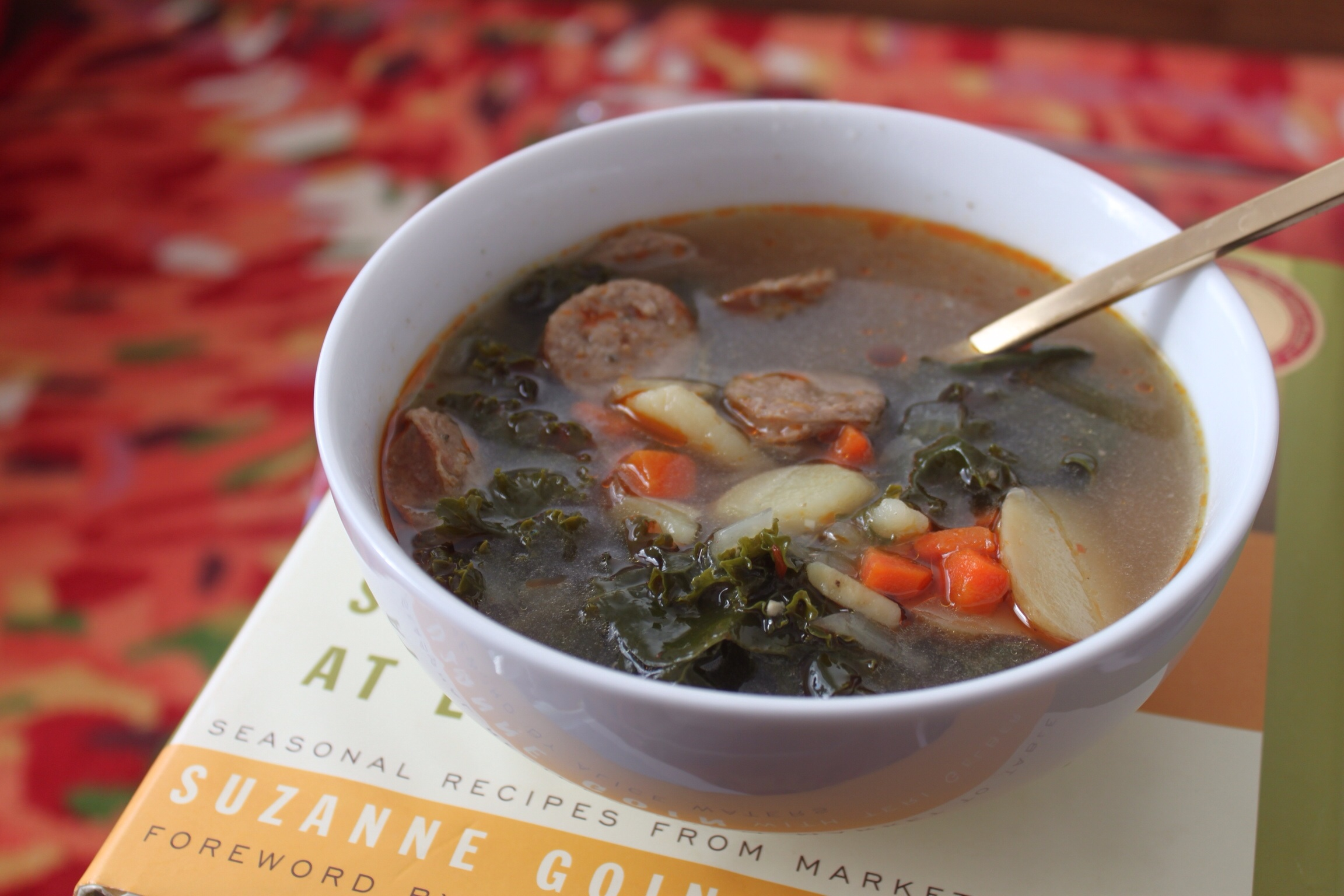 Turkey Sausage, Potato and Kale Soup – Mod Meals on Mendenhall
